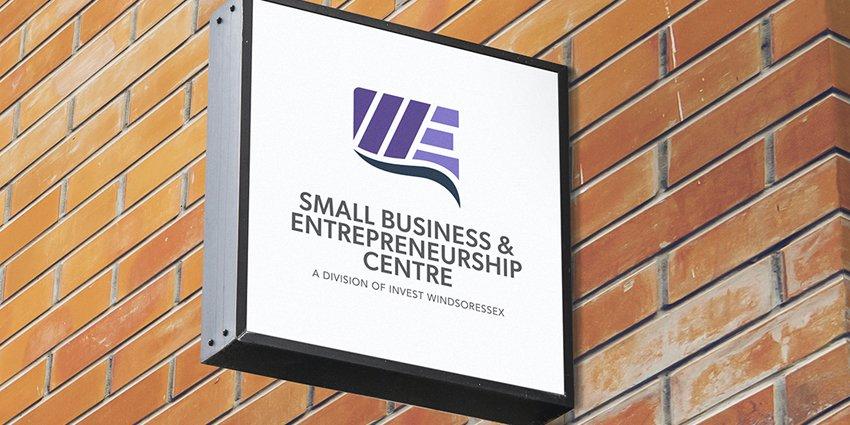 Small Business & Entrepreneurship Centre exterior signage