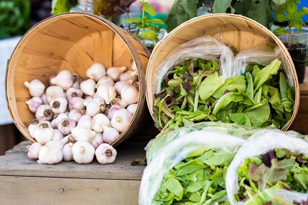 Downtown Windsor Farmers' Market vegetables